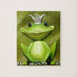 "The Frog Prince Jigsaw Puzzle<br><div class=""desc"">Puzzle</div>"