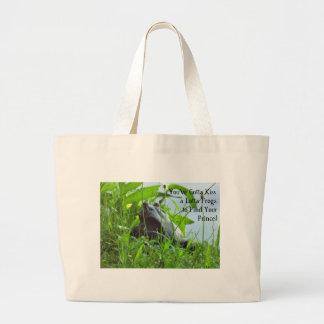 The Frog Prince Large Tote Bag