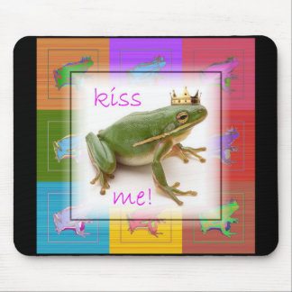 The Frog Prince Mouse Pads
