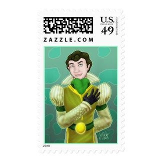 The Frog Prince Postage Stamp