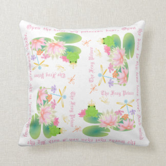 The Frog Prince Story Pillow