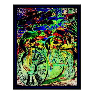 The Frog Races Poster