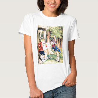 The Frog The Fish & the Queen of Hearts Invitation T-Shirt