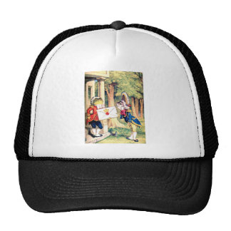 The Frog The Fish & the Queen of Hearts Invitation Trucker Hat
