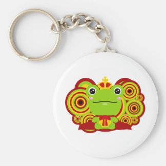 The frog which did not fit a prince keychain
