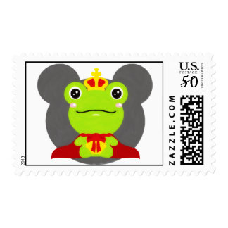 The frog which did not fit a prince postage