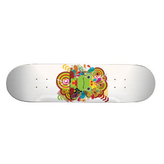 The frog which did not fit a prince skateboard decks