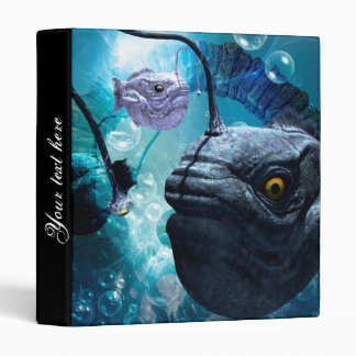 The frogfish with bubbles binder