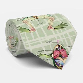 The Frog's Anatomy Neck Tie