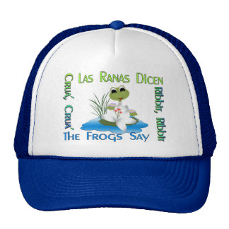 The Frogs Say Ribbit! Trucker Hat