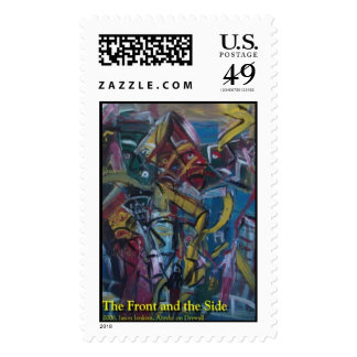 the front and the side  postage