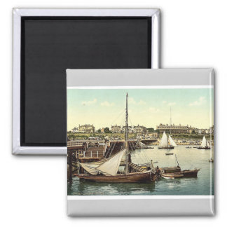 The front pier from pier end, Clacton-on-Sea, Engl Fridge Magnets