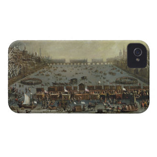 The Frost Fair of the winter of 1683-4 on the Tham iPhone 4 Covers
