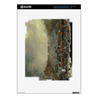 The Frost Fair of the winter of 1683-4 on the Tham iPad 3 Skin