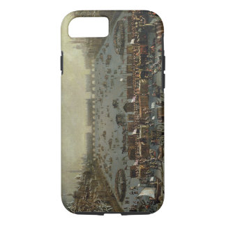 The Frost Fair of the winter of 1683-4 on the Tham iPhone 7 Case