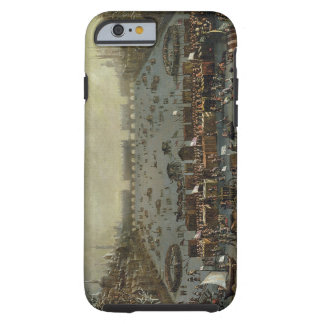 The Frost Fair of the winter of 1683-4 on the Tham iPhone 6 Case