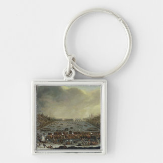 The Frost Fair of the winter of 1683-4 on the Tham Keychain