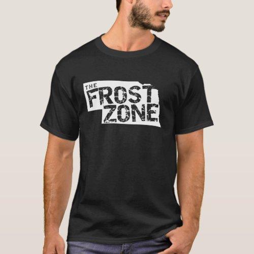 The Frost Zone Nebraska Football  Dark Shirt T_Shirt