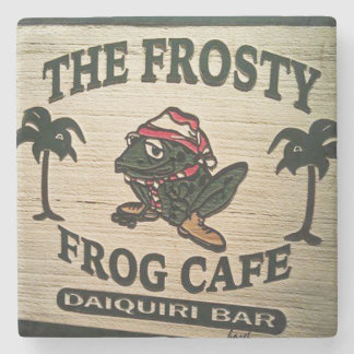 The Frosty Frog, Hilton Head Island Marble Coaster