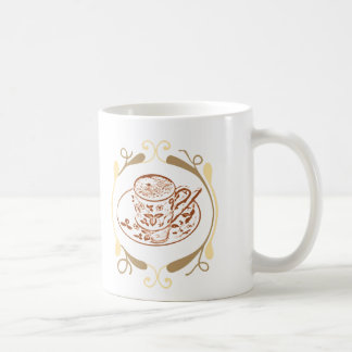 The Frothy Goodness Classic White Coffee Mug
