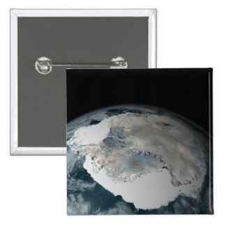 The frozen continent of Antarctica Pinback Buttons