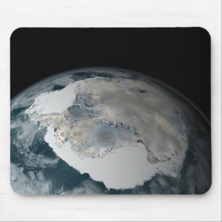 The frozen continent of Antarctica Mouse Pad