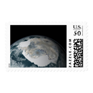 The frozen continent of Antarctica Postage