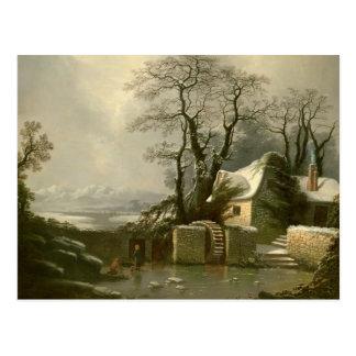 The Frozen Mill Race Postcard