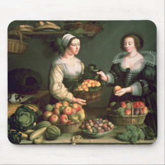 The Fruit and Vegetable Seller Mouse Pad