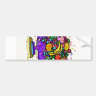 The Fruit Bowl. Car Bumper Sticker