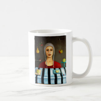 The fruit collector, The Fruit Collector, By Le... Classic White Coffee Mug