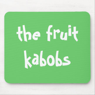the fruit kabobs mp mouse pad