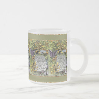 The Fruit Of The Spirit Frosted Glass Coffee Mug