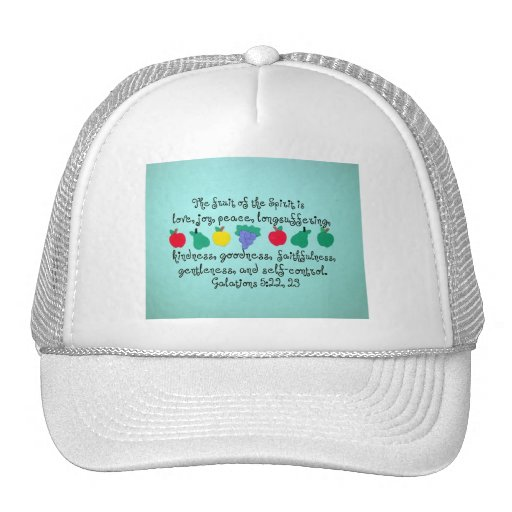 The fruit of the Spirit... Mesh Hats
