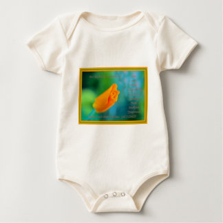 The Fruit of the Spirit is Love.... Baby Bodysuit