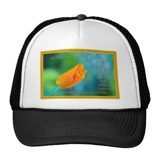 The Fruit of the Spirit is Love.... Trucker Hat