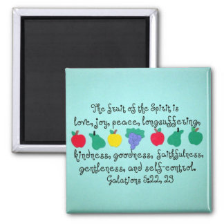 The fruit of the Spirit... Refrigerator Magnets