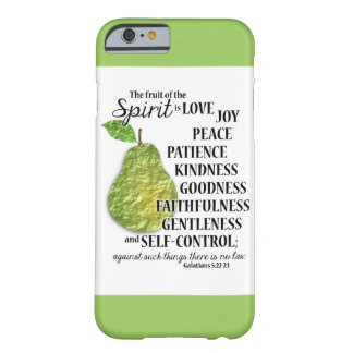 The Fruit of the Spirit - PEAR -  iPhone 6 Case