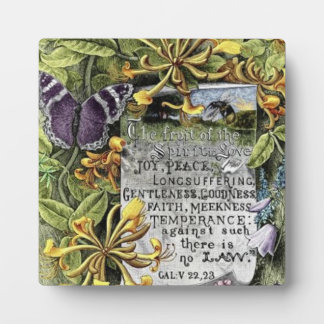 The Fruit Of The Spirit Display Plaque