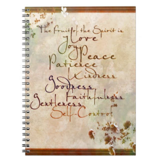 The Fruit of the Spirit Spiral Notebook