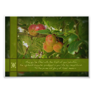 The Fruit of Your Salvation Apples 5x7 Photo
