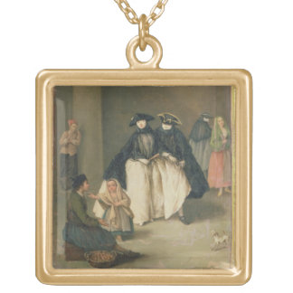 The Fruit Seller Gold Plated Necklace