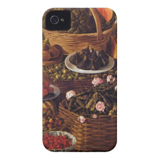 The Fruit Seller in detail by Vincenzo Campi iPhone 4 Case