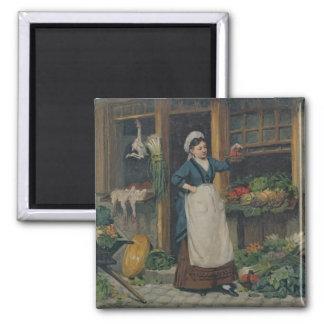 The Fruit Seller Magnet