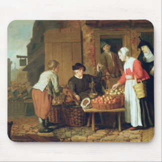 The Fruit Seller Mouse Pad