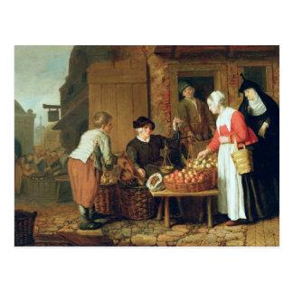 The Fruit Seller Postcard