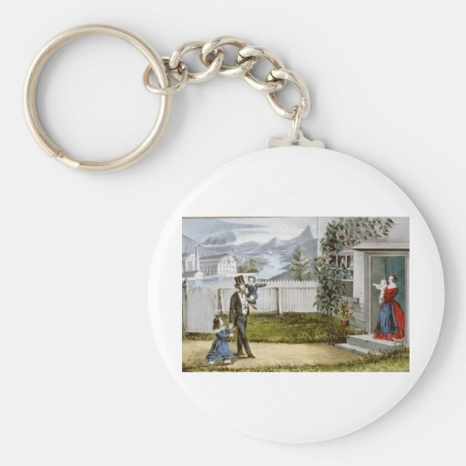 The Fruits of Temperance Key Chain