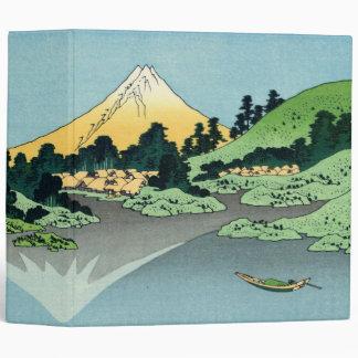 """The Fuji reflects in Lake Kawaguchi 2"""" Binder"""