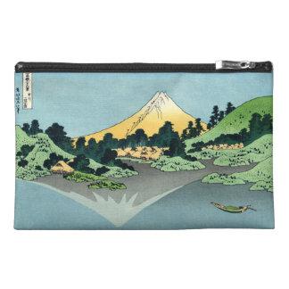 The Fuji reflects in Lake Kawaguchi Bagettes Bag Travel Accessories Bags