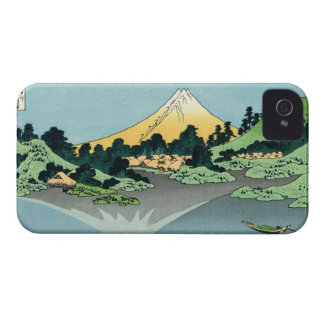 The Fuji reflects in Lake Kawaguchi Blackberry Cas iPhone 4 Case-Mate Cases